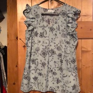 Cotton polyester blouse